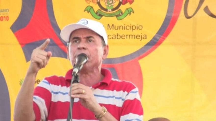 El defensor de los derechos humanos David Ravelo en otra foto de archivo