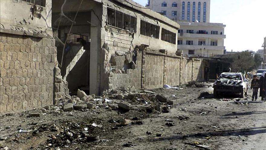 Al menos 25 muertos anoche por la explosión de un coche bomba en Siria