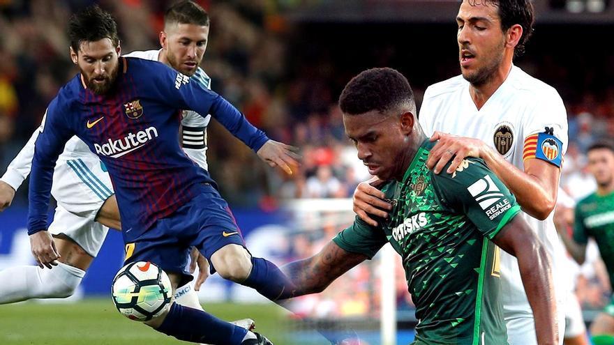 Copa del Rey: Barcelona-Madrid y Valencia-Betis
