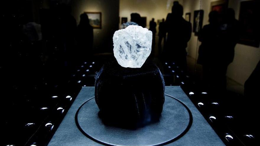 Diamante histórico podría llegar a los 70 millones de dólares en una subasta