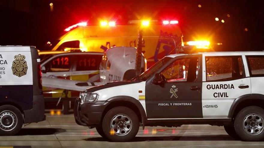 Dos hombres mueren calcinados al estrellarse una avioneta en Cuatro Vientos