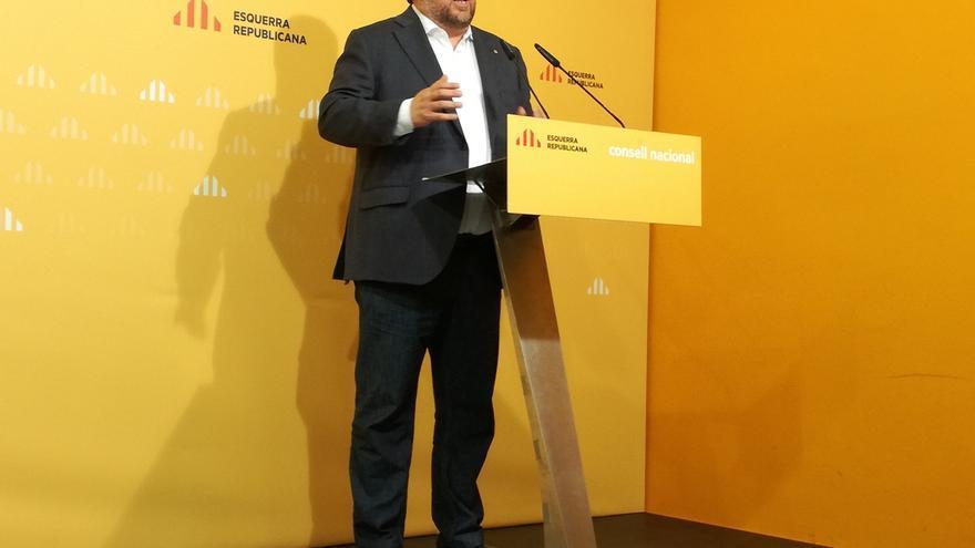 """Junqueras insiste en el diálogo y avisa de que ERC """"no necesita sobreactuar para decir que es independentista"""""""