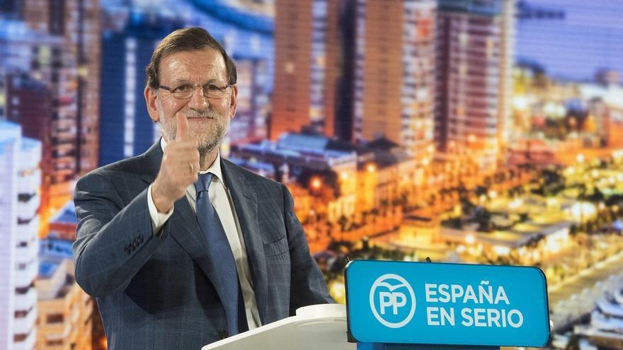 """Rajoy pide apoyar al PP: """"El pasado nos avala. Hemos sabido gobernar"""""""