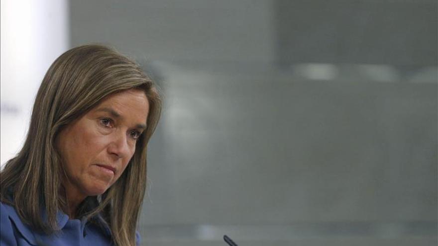 La ministra de Sanidad, Asuntos Sociales e Igualdad, Ana Mato./EFE