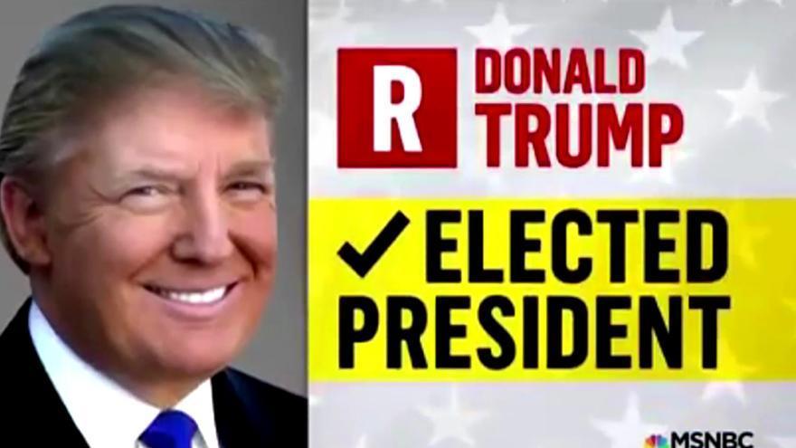 Donald Trump, presidente electo