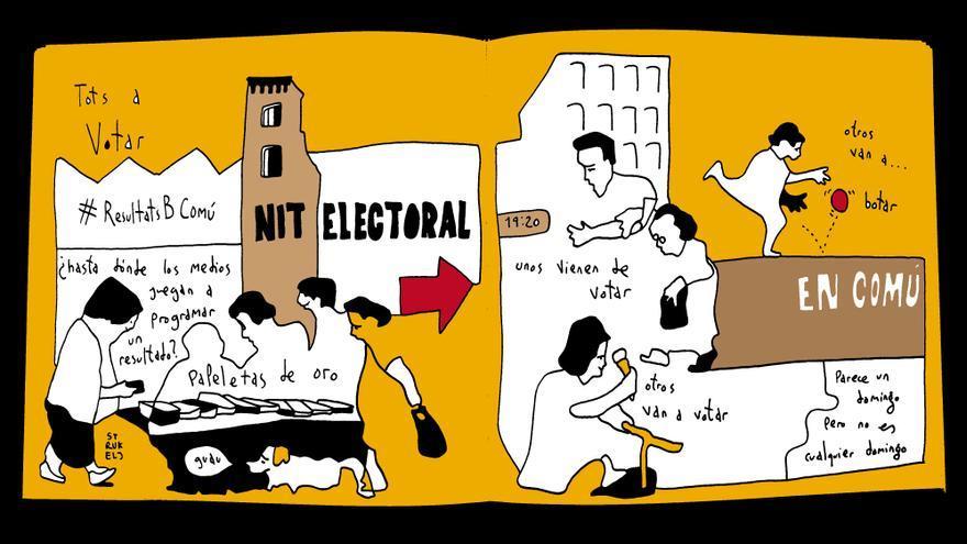 La nit electoral de Barcelona en Comú / PEDRO STRUJELJ