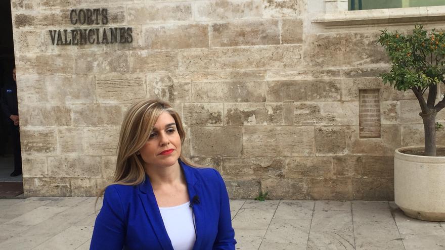 Eva Ortiz, secretaria general del PP valenciano.