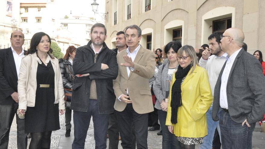"""Zapatero (PSOE) condena la """"intolerable"""" agresión a Rajoy y dice que """"no hay un gramo de política en la violencia"""""""