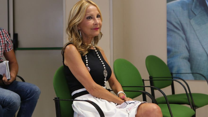 La presidenta del PP de Gran Canaria María Australia Navarro