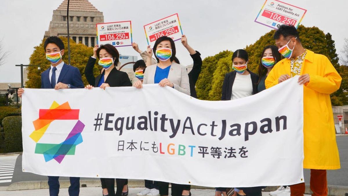 La campaña #EqualityActJapan reunió 106.250 firmas desde el 15 de octubre de 2020 hasta el 21 de febrero de 2021.