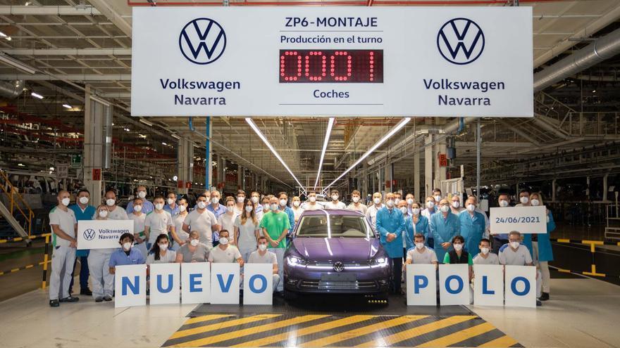El primero vehículo del nuevo Polo.