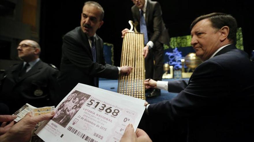 Las ventas de lotería aumentan un 4,52 %, una subida similar al año anterior