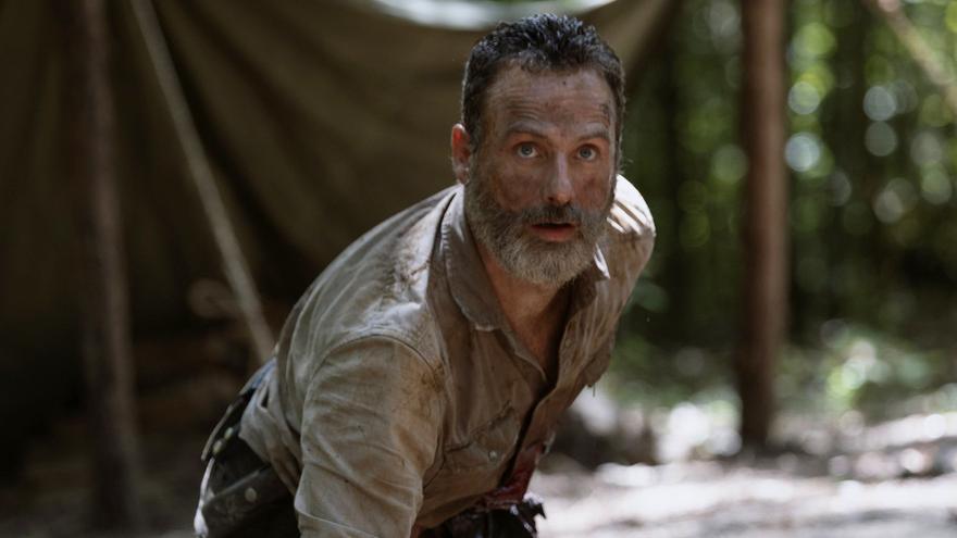 Rick Grimes, en una escena de 'The Walking Dead'