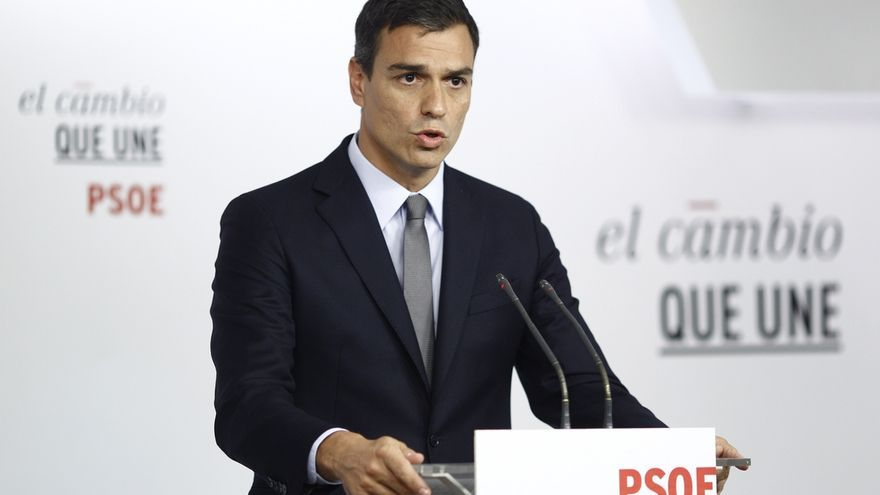"""Pedro Sánchez dice que el PSOE debe volver a su """"esencia"""", el reformismo, frente a la """"inacción de Rajoy"""""""