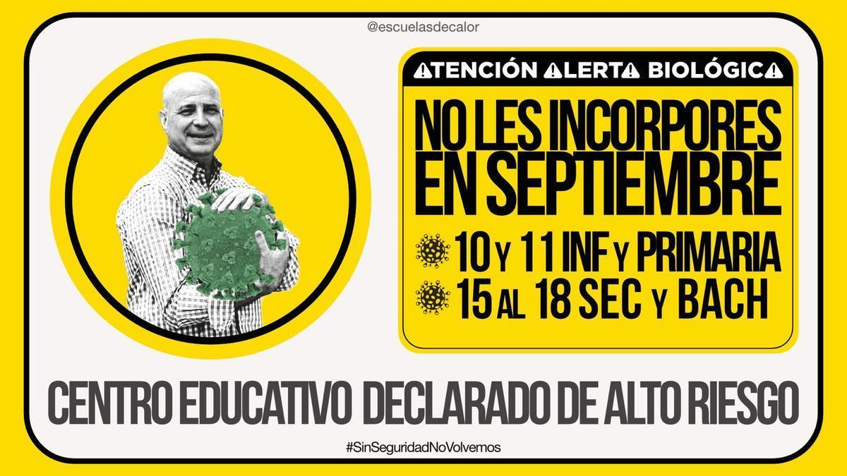 """""""Escuelas de Calor"""" de Andalucía promueve #sinseguridadnovolvemos"""