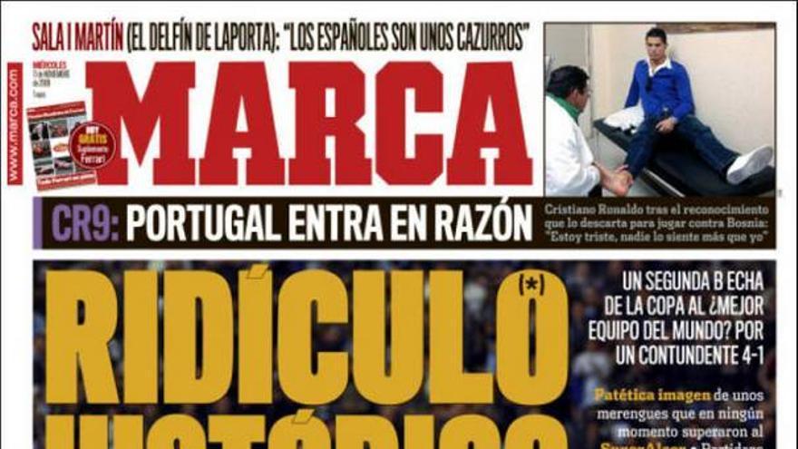 De las portadas del día (11/11/09) #11