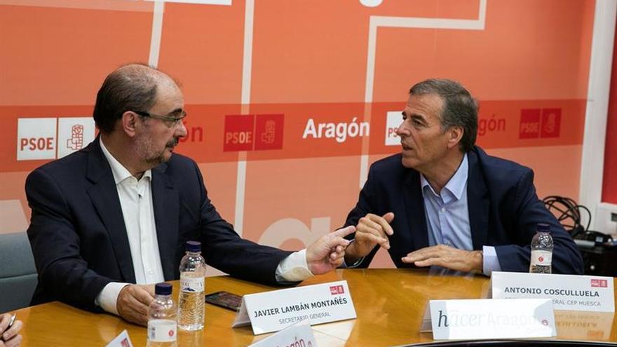 Cosculluela renuncia a la presidencia de las Cortes y seguirá como alcalde