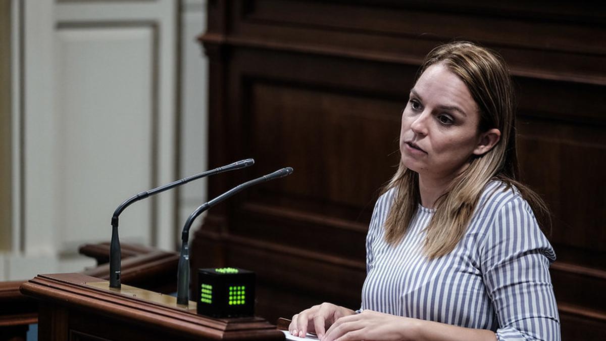 La consejera de Derechos Sociales, Igualdad, Diversidad y Juventud de la comunidad autónoma, Noemí Santana.