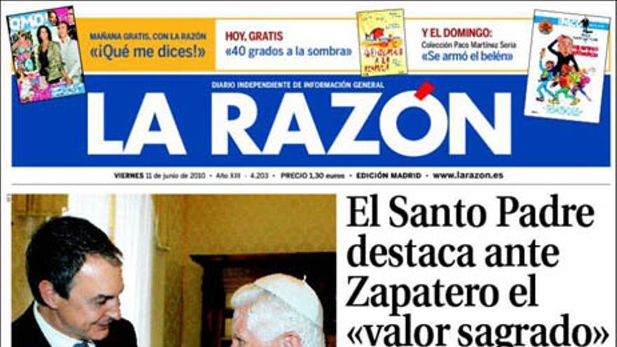 De las portadas del día (11/06/2010) #6