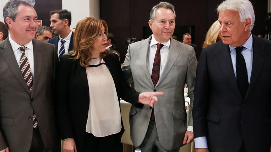 "Susana Díaz: ""Felipe González me apoya siempre, hasta cuando me critica"""