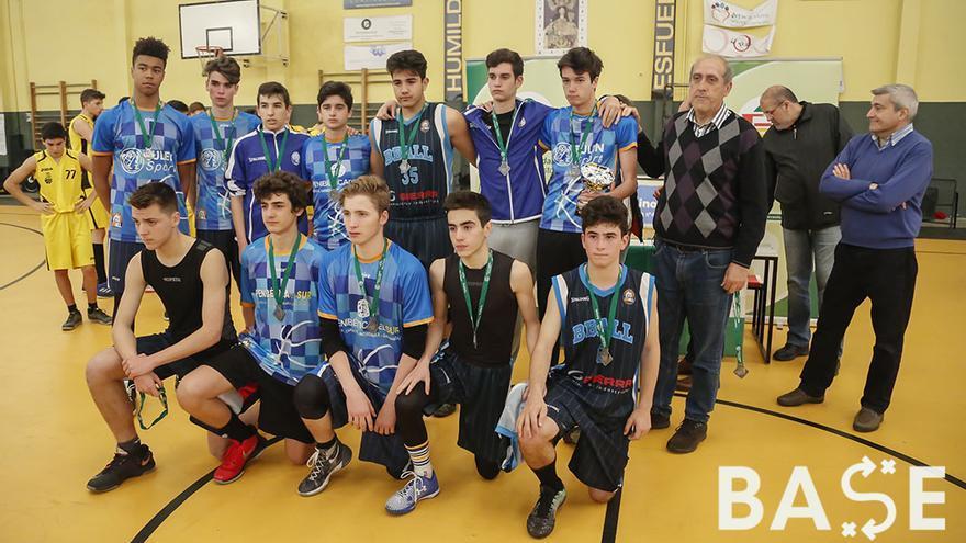 Equipo del Bball cadete, subcampeón de la Liga Provincial | ÁLEX GALLEGOS