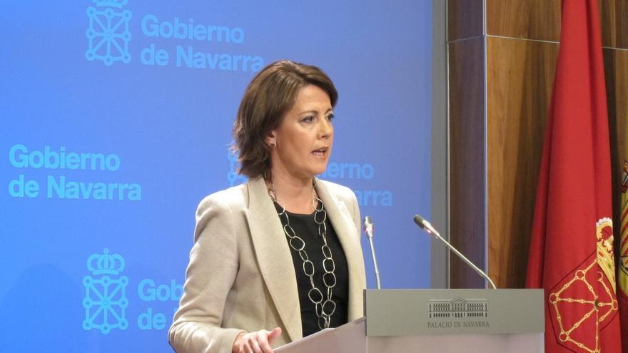 """Barcina responde al PP de Madrid que ella con quien tiene que """"hablar es con el Gobierno de España"""""""