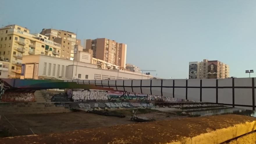 Urbanismo licita el proyecto de sustitución del puente junto al CAC Málaga