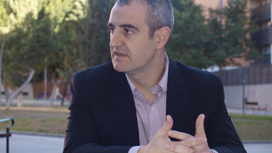 El candidato de UPyD a la Presidencia de la Región de Murcia, César Nebot