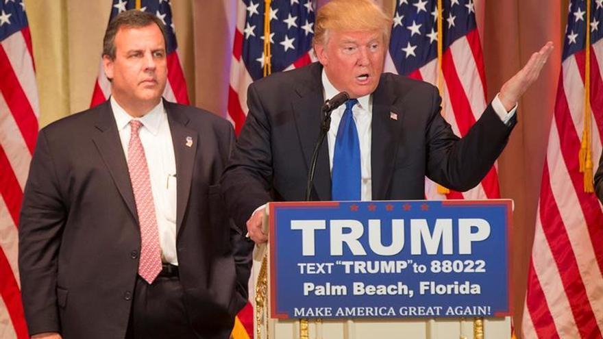 Trump se verá con Christie tras haberle quitado el liderazgo de la transición