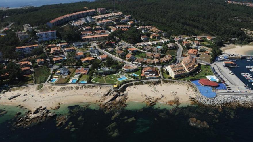 """Vista de San Vicente de O Grove, que la Xunta considera """"rural"""" o """"poco poblado"""" para bajar impuestos a la compra de segundas residencias CC-BY-NC-SA Plan de Ordenación do Litoral"""