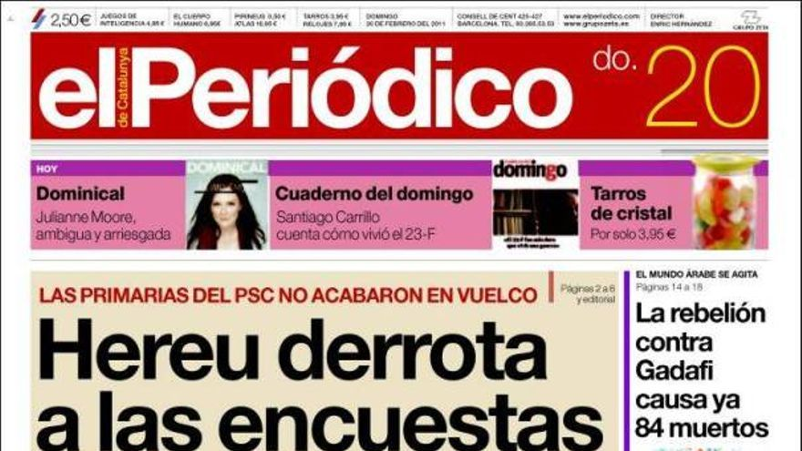 De las portadas del día (20/02/11) #11