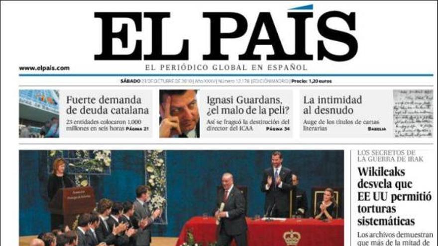 De las portadas del día (23/10/2010) #6