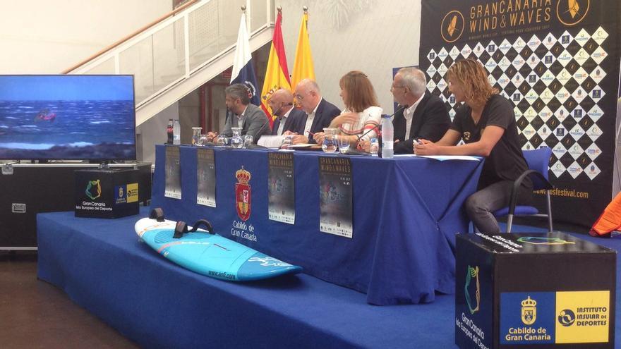 Presentación de la 29 edición del Gran Canaria Wind & Waves Festival.