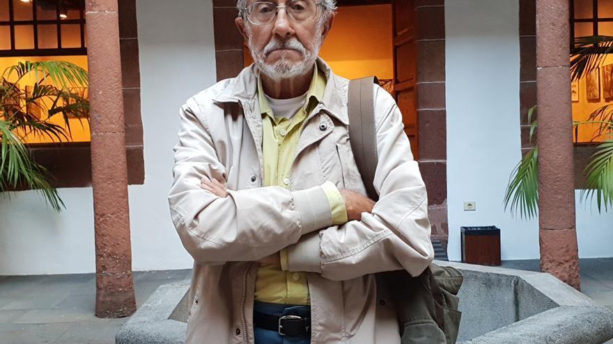 Alfredo Hernández-Pacheco se encuentra estos días en La Palma.