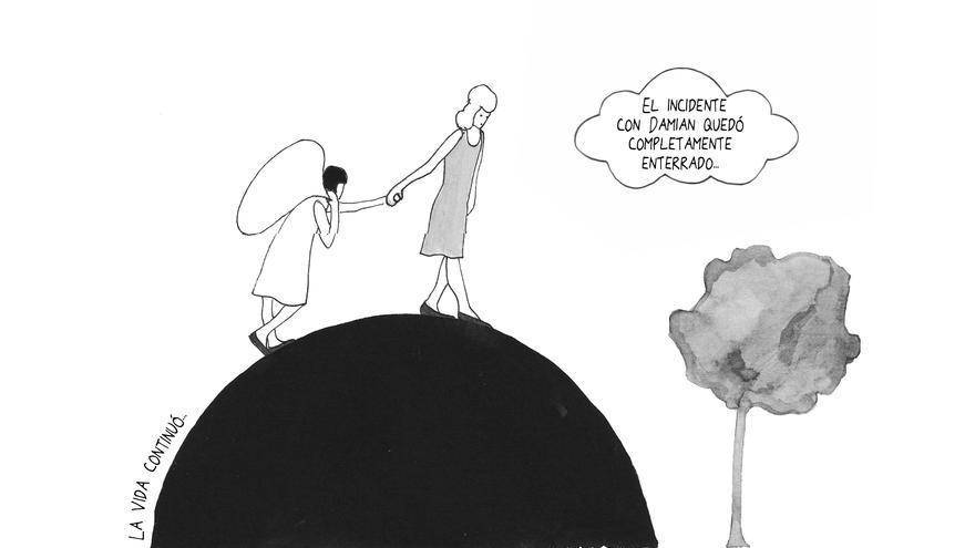'Una de muchas' habla de la culpa y la vergüenza que someten a las víctimas de violencia sexual. / Ed. Astiberri