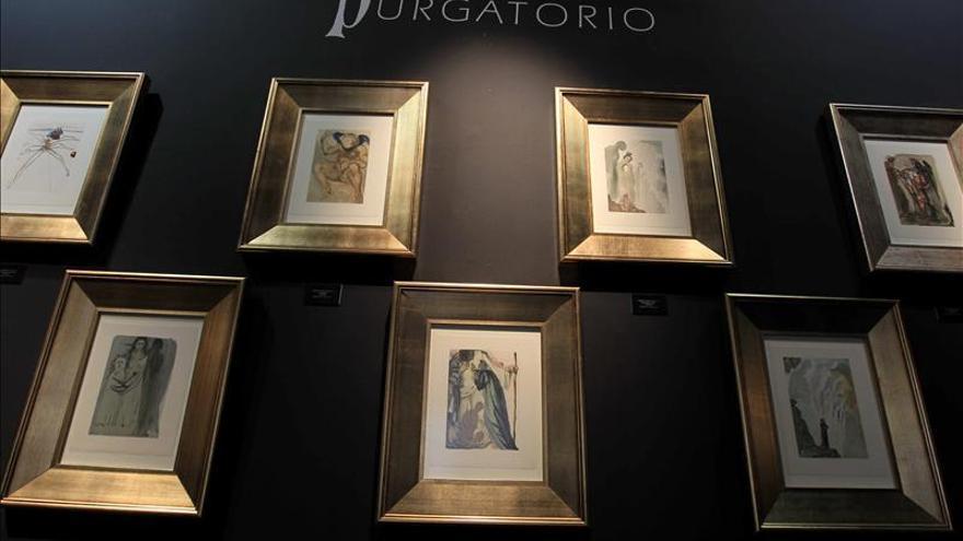 Brasil acoge el dantesco infierno, purgatorio y paraíso del surrealista Dalí