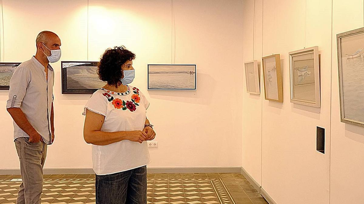 Jovita Monterrey visitó la exposición.