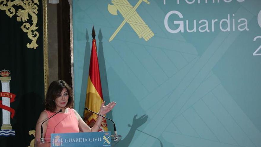 La Guardia Civil premia a Ana Rosa Quintana por impulsar la imagen del cuerpo
