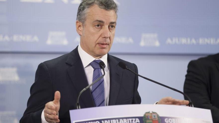 """Urkullu quiere una reunión """"discreta"""" con Rajoy para que sea """"efectiva"""""""