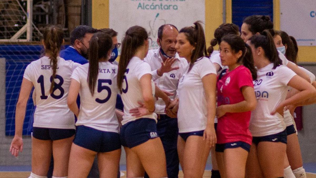 Integrantes del Academia Córdoba en un partido.