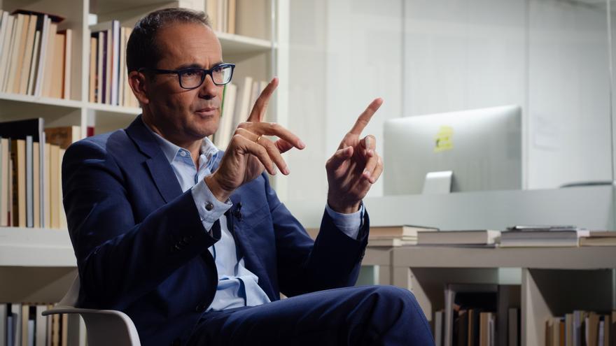 El exdirector de El Mundo David Jiménez.