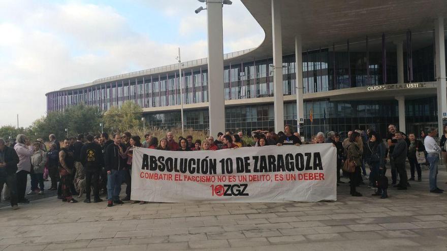 Concentración este martes 17 de octubre en la Ciudad de la Justicia de Zaragoza