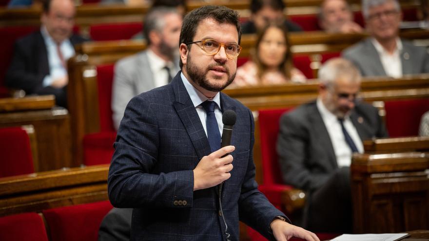 "Aragonès dice que ""la confianza ha desaparecido después de la campaña del 10N"" del PSOE"