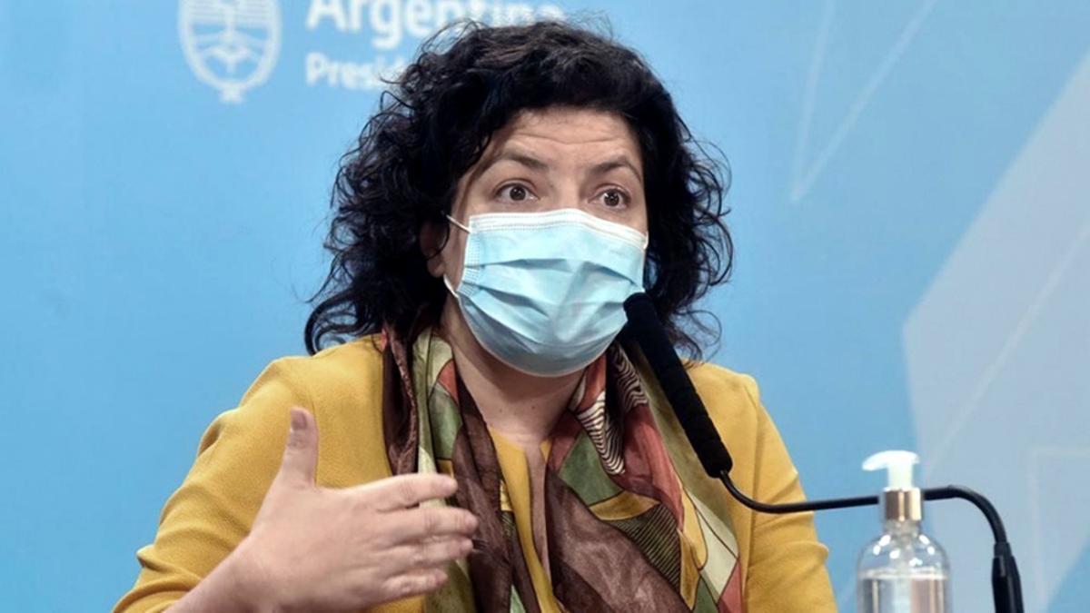 Vizzotti habló este lunes en el marco de la primera sesión de la reunión de ministros de Salud del G20