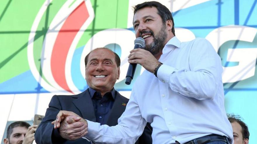 Salvini reúne a la derecha italiana y promete volver pronto al Gobierno