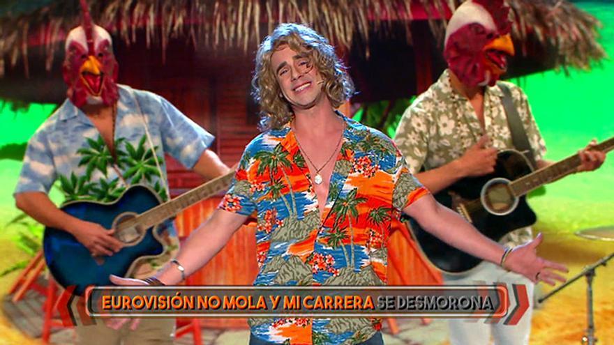 David Carillo imita a Manel Navarro en Me lo dices o me lo cantas