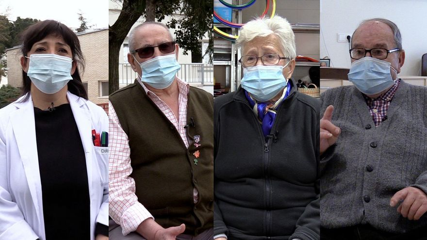 """Las vacunas devuelven la vida a las residencias: """"Estábamos esperándolo como agua de mayo"""""""