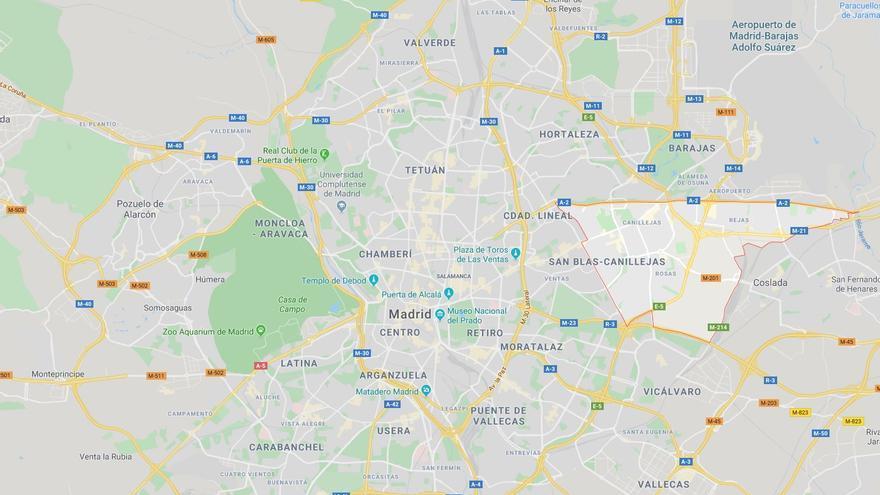 Distrito de San Blas-Canillejas, Madrid.