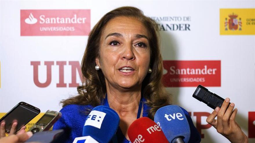 """Carmen Vela ve """"imposible"""" un pacto por la ciencia con un 3 % del PIB"""