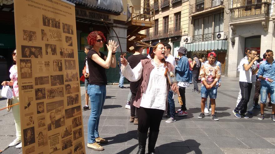Manifesta-cción cultural en Toledo
